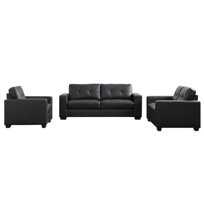 Corliving Club Modern Grey Chenille Sofa In The Couches Sofas Loveseats Department At Lowes Com