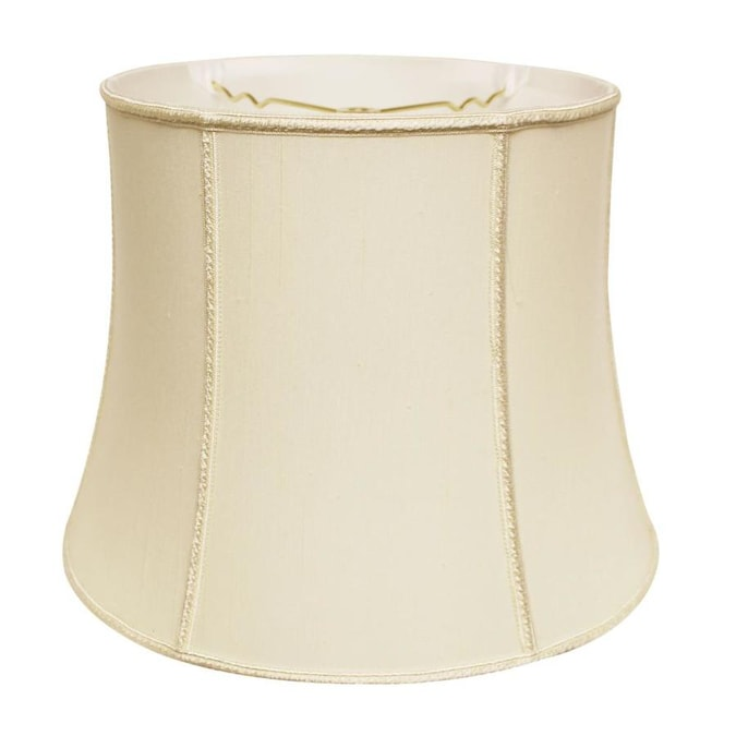 Cloth Wire Slant Corset Drum Softback L Amphade With Washer Fitter Egg In The Lamp Shades Department At Lowes Com