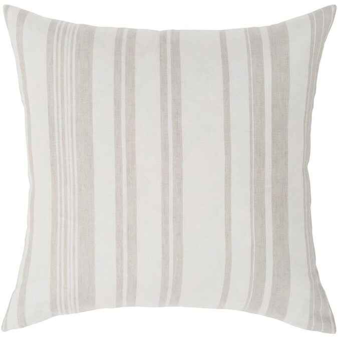 Safavieh Enchanted Evergreen 20 In W X 20 In L Beige Gold Viscose Cotton Square Indoor Decorative Pillow In The Throw Pillows Department At Lowes Com