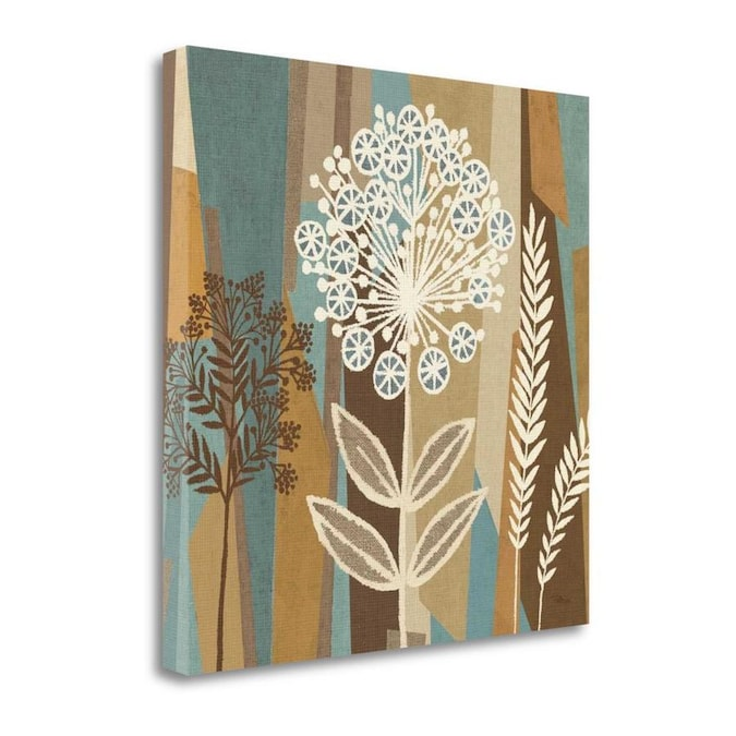 Tangletown Fine Art Frameless 20 In H X 20 In W Floral Canvas Print In The Wall Art Department At Lowes Com