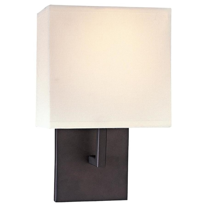 George Kovacs 7 75 In W 1 Light Bronze Modern Contemporary Wall Sconce In The Wall Sconces Department At Lowes Com