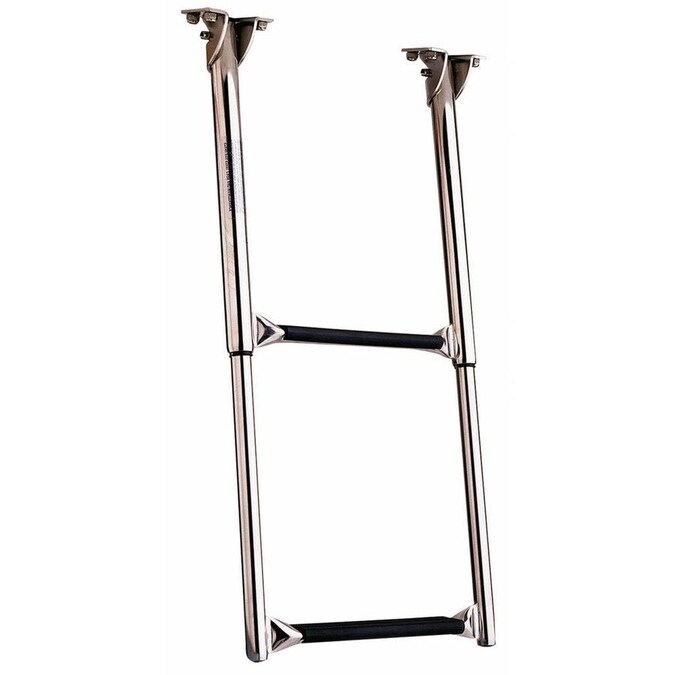 Garelick Under Platform Telescoping Drop Ladder 2 Steps In The Rv Accessories Department At Lowes Com
