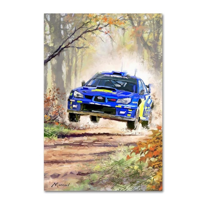 Trademark Fine Art Transportation Framed 47 In H X 30 In W Figurative Canvas Print In The Wall Art Department At Lowes Com
