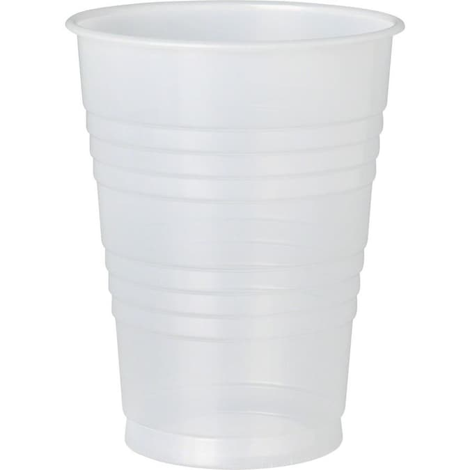Solo 1000 Count 12 Oz Clear Plastic Disposable Cup In The Disposable Cups Department At Lowes Com