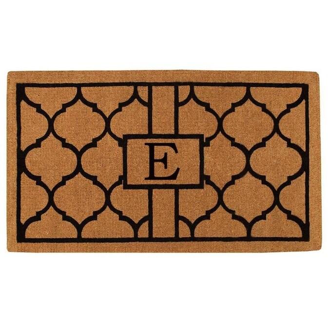 Callowaymills Callowaymills Monogram 2 Ft X 3 Ft Rectangular Indoor Outdoor Door Mat In The Mats Department At Lowes Com