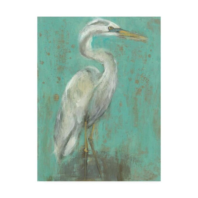 Trademark Fine Art Animals Framed 32 In H X 24 In W Animals Canvas Print In The Wall Art Department At Lowes Com