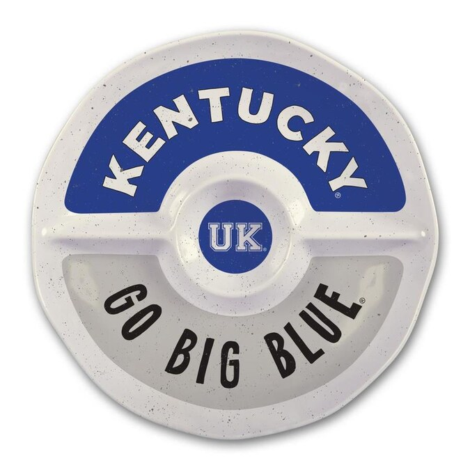 Magnolia Lane Kentucky Wildcats More Than Tailgating 14 In X 14 In Kentucky Round Serving Platter In The Serving Trays Caddies Department At Lowes Com