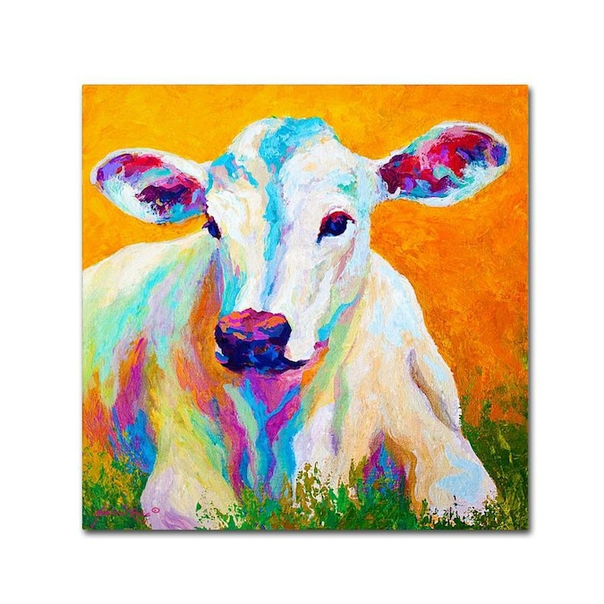 Trademark Fine Art Animals Framed 24 In H X 24 In W Animals Canvas Print In The Wall Art Department At Lowes Com