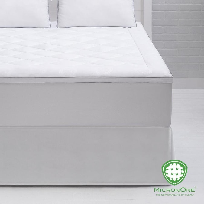 Cozy Essentials 13 In D Polyester California King Hypoallergenic Mattress Cover Bed Bug Protection In The Mattress Covers Toppers Department At Lowes Com