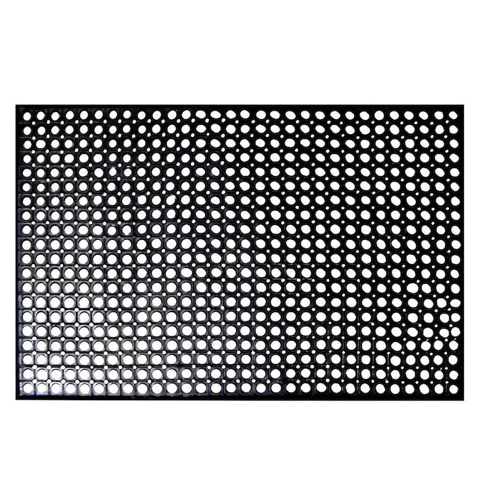 Rhino Mats 4 Ft X 1 In Gray Gray Rectangular Indoor Outdoor Anti Fatigue Mat In The Mats Department At Lowes Com