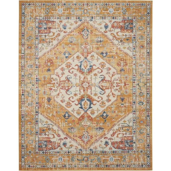 Nourison Passion Area Rug In The Rugs Department At Lowes Com