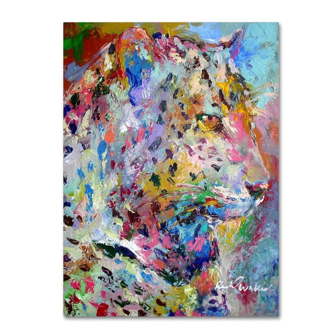 Trademark Fine Art Animals Framed 32 In H X 24 In W Animals Print On Canvas In The Wall Art Department At Lowes Com
