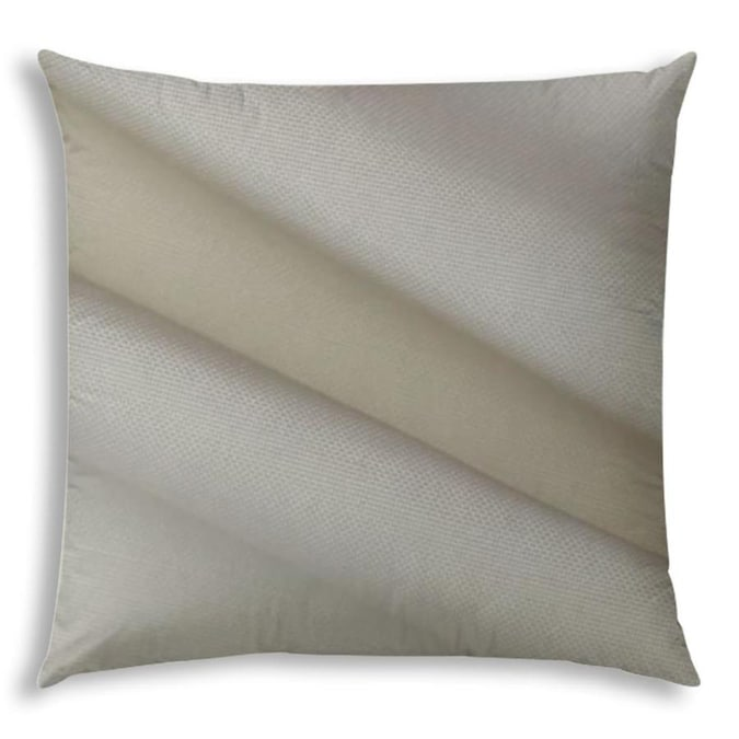 Joita 19 1 2 In X 19 1 2 In Light Taupe Gray Polyester Square Indoor Decorative Cover In The Throw Pillows Department At Lowes Com
