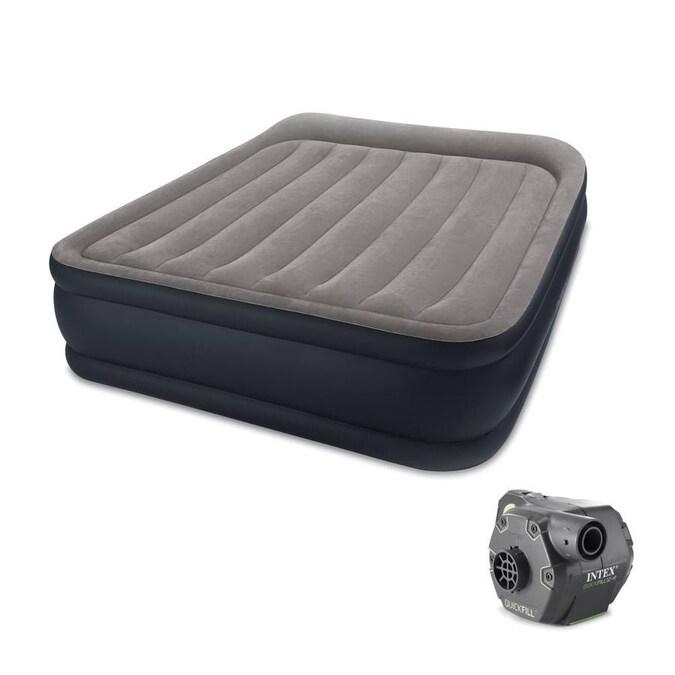 Intex Pvc Queen Air Mattress In The, Intex Inflatable Queen Bed