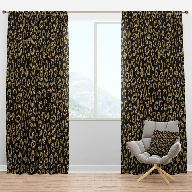 Eclipse Corinne 63 In Black Polyester Blackout Single Curtain Panel In The Curtains Drapes Department At Lowes Com