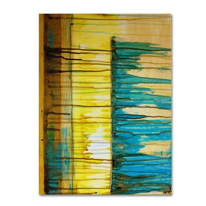 Trademark Fine Art Nicole Dietz The Waterfall 24x32 Canvas Art In The Wall Art Department At Lowes Com
