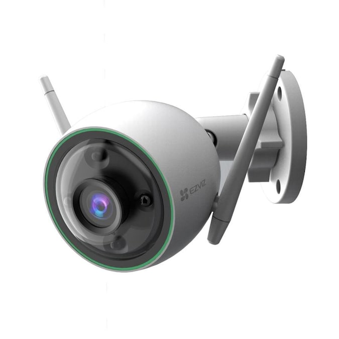 Ezviz Hardwired Wired Smart Outdoor Security Camera In The Security Cameras Department At Lowes Com