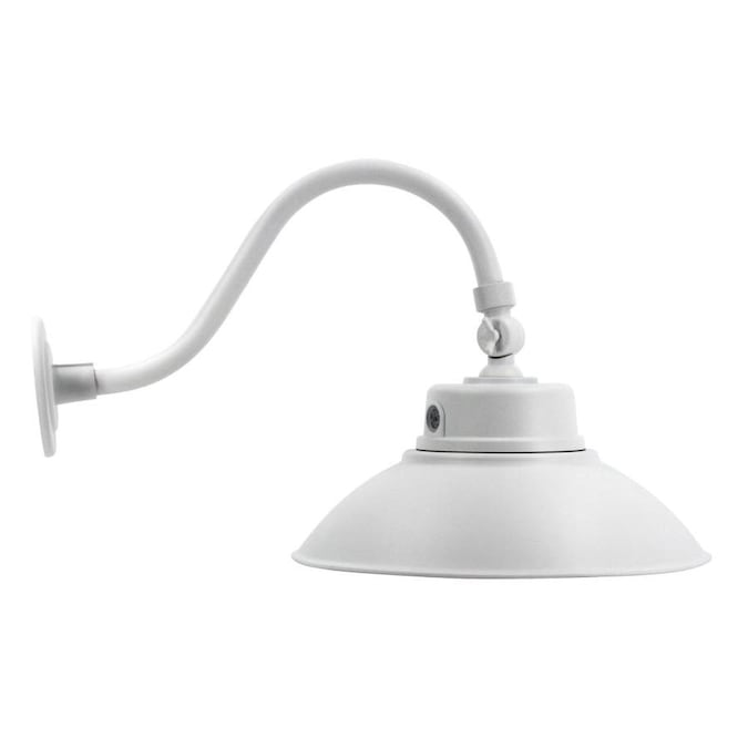 Spitzer Gooseneck Barn 13 8 In H Bronze Electrical Outlet Led Outdoor Wall Light Energy Star In The Outdoor Wall Lights Department At Lowes Com