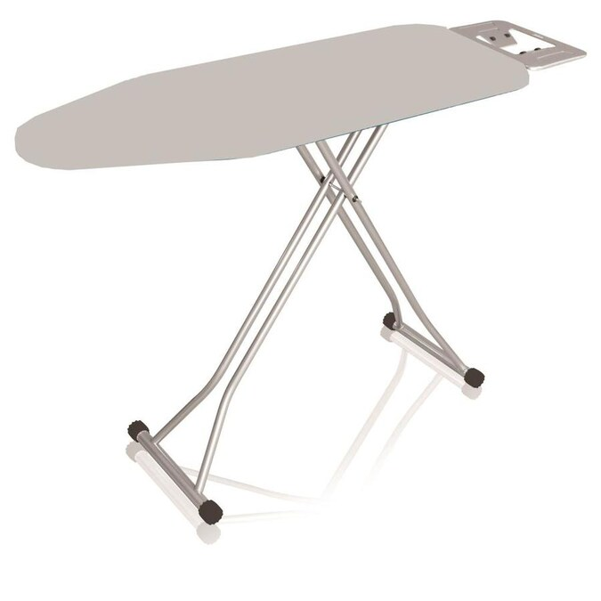 Home Basics Freestanding Folding Ironing Board In The Ironing Boards Covers Accessories Department At Lowes Com