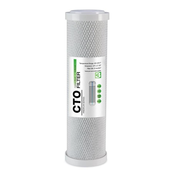 Ispring Fc15us Carbon Block Under Sink Replacement Filter In The Replacement Water Filters Cartridges Department At Lowes Com