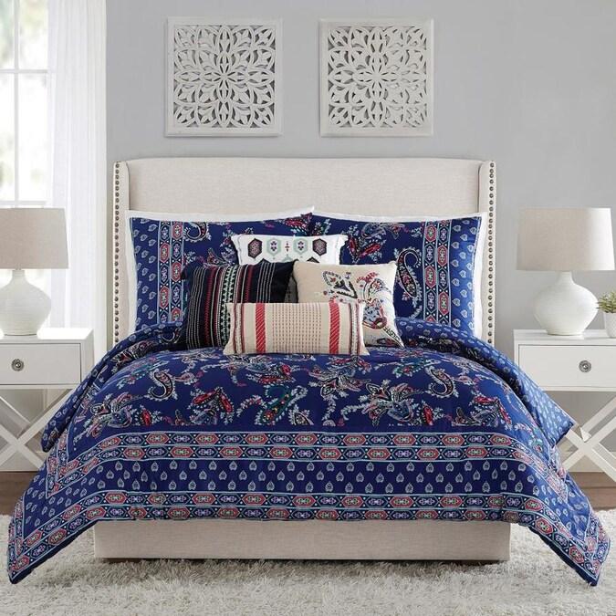 Vera Bradley Romantic Paisley 3 Piece, Jewel Tone Bedding