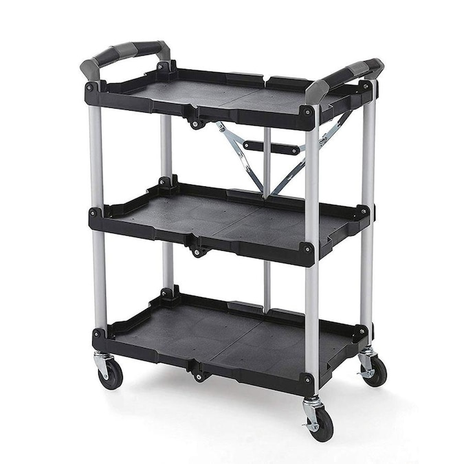 Olympia Tools 34 In Shelf Utility Cart In The Utility Carts Department At Lowes Com