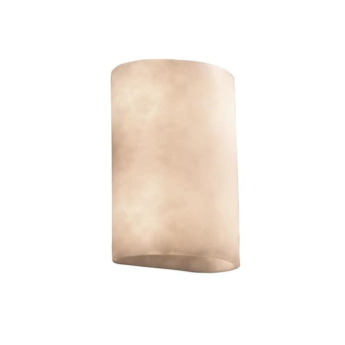 Justice Design Group Clouds 2 Light Ada Small Cylinder Wall Sconce Clouds In The Wall Sconces Department At Lowes Com