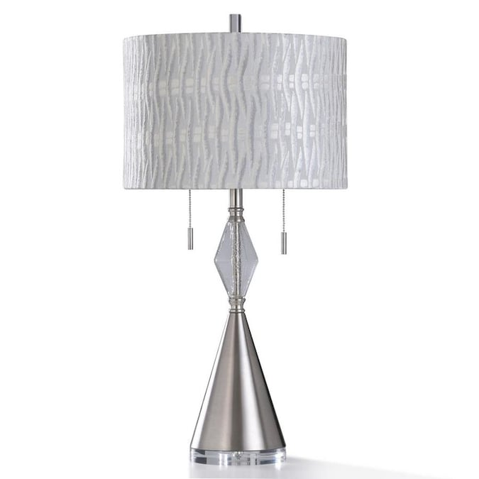 Stylecraft Home Collection 32 5 In Table Lamp With Linen Shade In The Table Lamps Department At Lowes Com