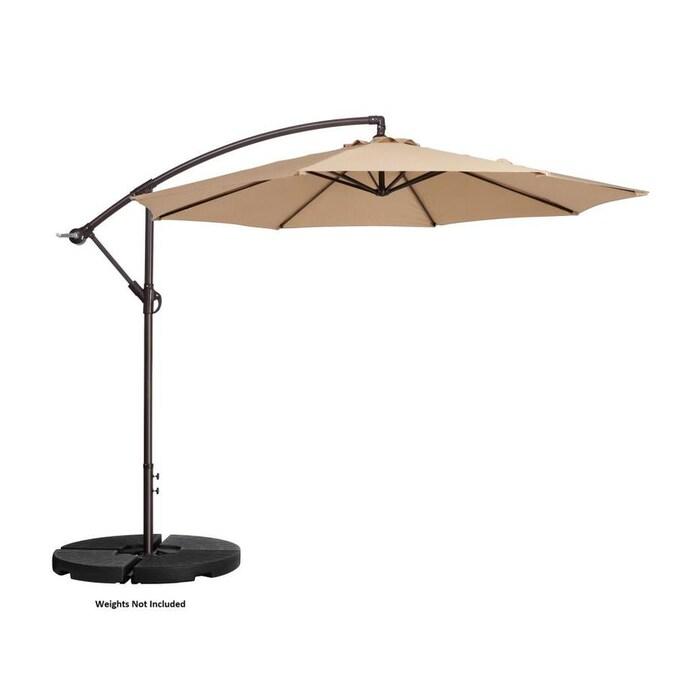 Nature Spring 10 Ft Offset Patio, 10 Ft Cantilever Patio Umbrella
