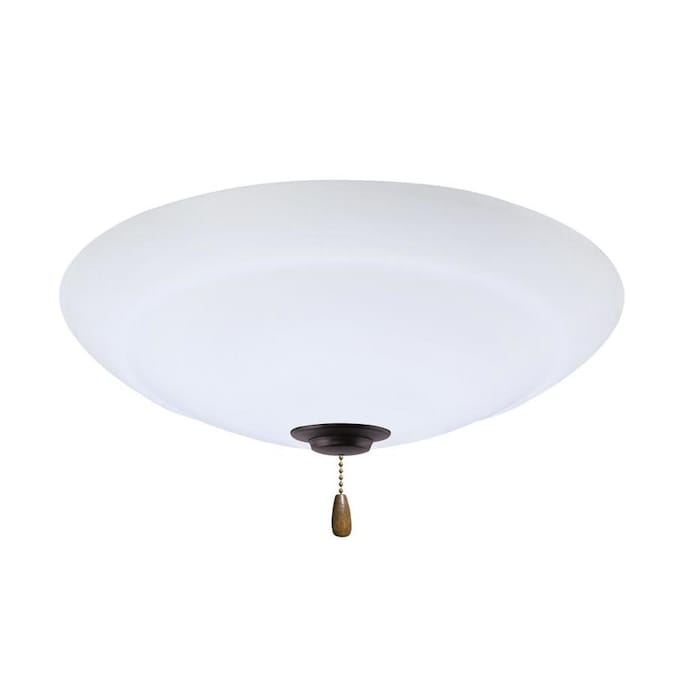 Emerson Emerson Riley Led Ceiling Fan Light Fixture Oil Rubbed Bronze Finish In The Ceiling Fan Light Kits Department At Lowes Com