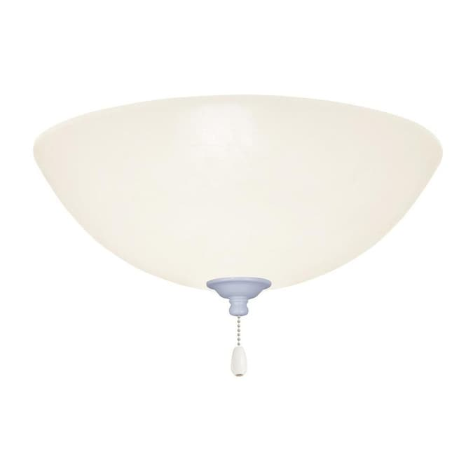 Emerson Emerson Opal Matte Led Light Fixture Appliance White Finish In The Ceiling Fan Light Kits Department At Lowes Com
