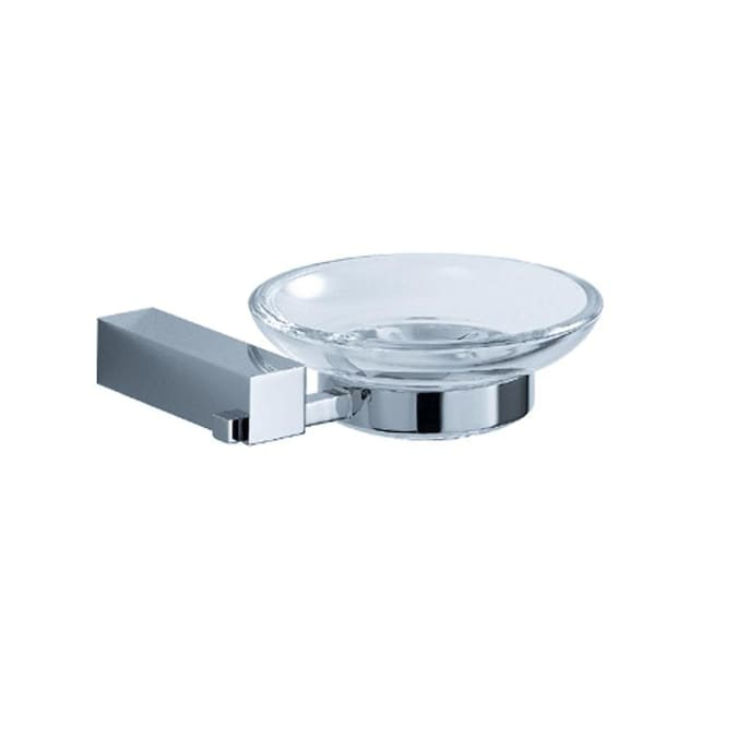 Fresca Fresca Ottimo Wall Mount Soap Dish In Chrome In The Soap Dishes Department At Lowes Com