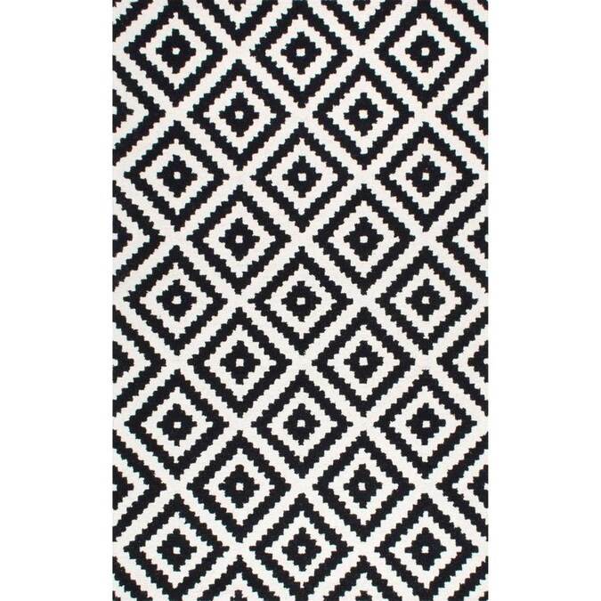 Pasargad Home Palermo 3 X 5 Indoor Geometric Area Rug In The Rugs Department At Lowes Com