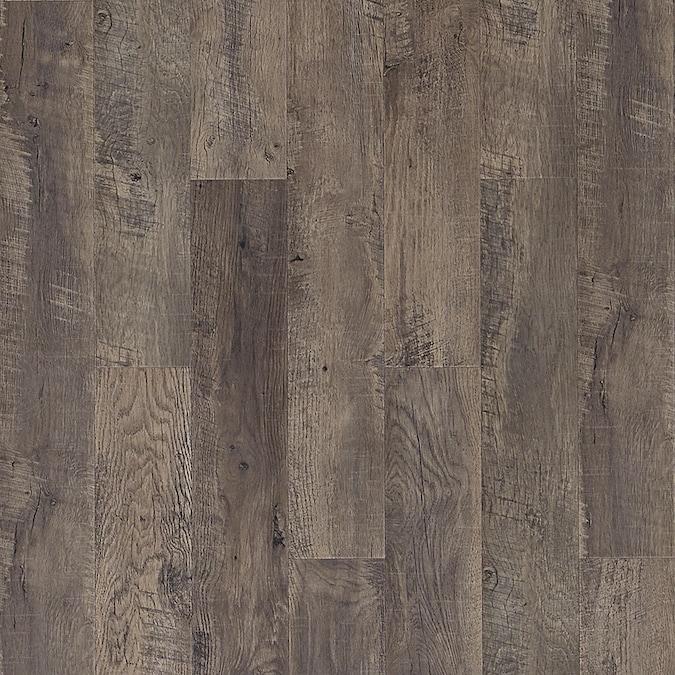 Pergo Portfolio Wetprotect Waterproof Huntington Oak 6 14 In W X 47 24 L Embossed Wood Plank Laminate Flooring The Department At Lowes