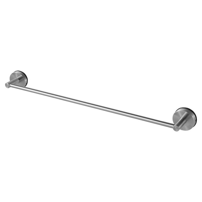 Wenko Vacuum Loc Quadro 23 In Chrome Suction Cup Single Towel Bar In The Towel Bars Department At Lowes Com