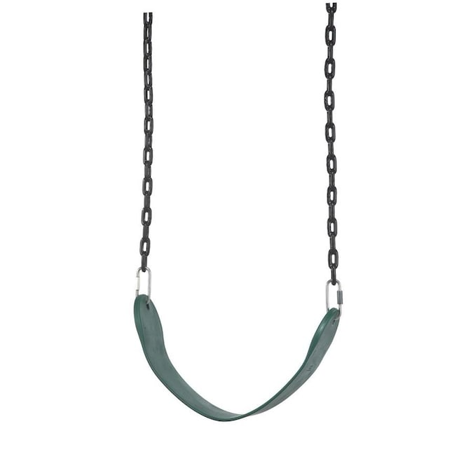 Playstar Commercial Grade Green Plastic And Metal Belt Swing In The Swings Department At Lowes Com