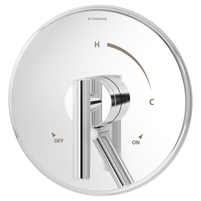 Symmons Dia Chrome 1 Handle Bathtub And Shower Faucet With Valve In The Shower Faucets Department At Lowes Com