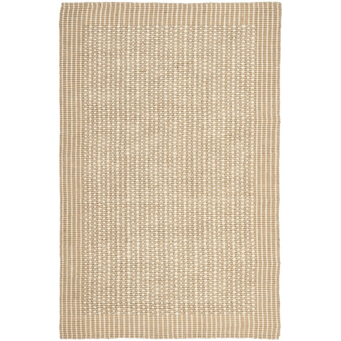 Safavieh Natural Fiber Caicos 5 X 8 Natural Ivory Indoor Stripe Coastal Handcrafted Area Rug In The Rugs Department At Lowes Com