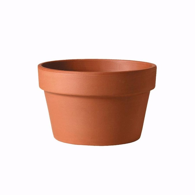 10 63 In W X 7 48 In H Terracotta Planter In The Pots Planters Department At Lowes Com