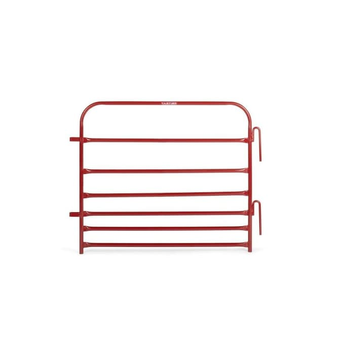 Tarter Pipe Panel 3 Ft H X 4 Ft W Red Steel Containment Fence Panel In The Metal Fence Panels Department At Lowes Com