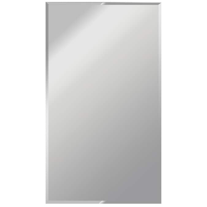 X 42 In W Beveled Wall Mirror, Black Framed Mirror 40 X 60