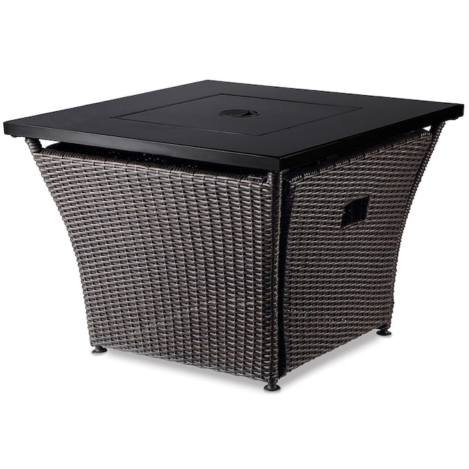 Blue Rhino 32 In W 50000 Btu Steel Propane Gas Fire Table In The Gas Fire Pits Department At Lowes Com
