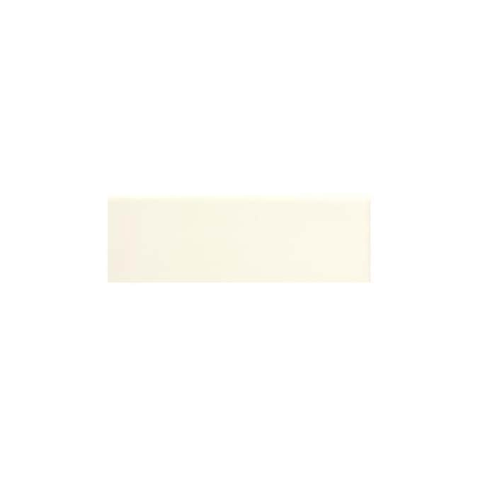 American Olean Bright Almond Ceramic Bullnose Tile 2 In X 6 In In The Accent Trim Tile Department At Lowes Com