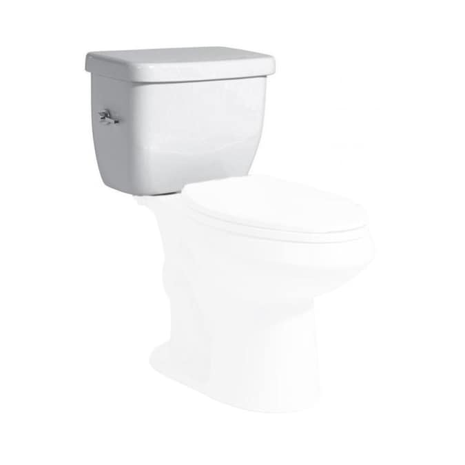 Niagara Conservation Sentinel White 1 28 Gpf Single Flush High Efficiency Toilet Tank In The Toilet Tanks Department At Lowes Com