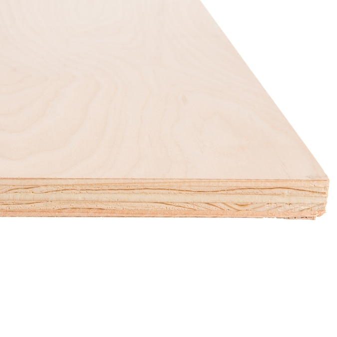 Top Choice 3 4 In X 4 Ft X 8 Ft Birch In The Plywood Department At Lowes Com
