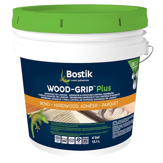 Bostik Wood Flooring Adhesive 4 Gallon In The Flooring Adhesives Department At Lowes Com