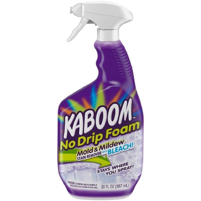 Kaboom 30 Fl Oz Foam Multipurpose Bathroom Cleaner In The Multipurpose Bathroom Cleaners Department At Lowes Com
