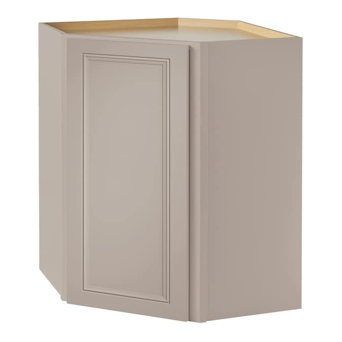 Diamond Now Wintucket 24 In W X 30 In H X 12 In D Cloud Corner Wall Stock Cabinet In The Stock Kitchen Cabinets Department At Lowes Com