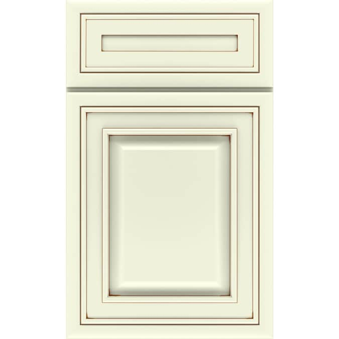 Diamond Caldwell Painted Coconut With Toasted Almond Glaze High Definition Printed Door Sample In The Kitchen Cabinet Samples Department At Lowes Com
