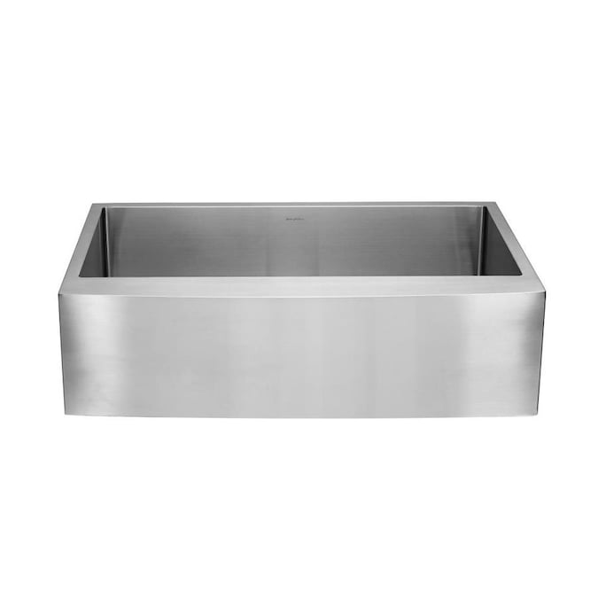 Swiss Madison Rivage Farmhouse Apron Front 22 In X 33 In Stainless Steel Single Bowl Kitchen Sink In The Kitchen Sinks Department At Lowes Com